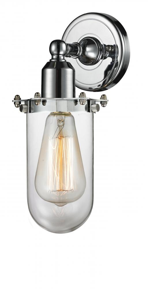 Polished Chrome Innovations Lighting 900-2W-PC-CE219-PC-LED Bare Bulb 1 Light Cord Set